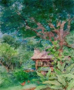 Artwork at Rock View Lodge
