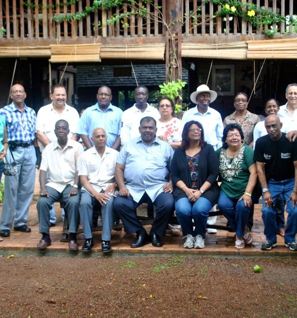 Guyana's Diplomatic Corps Convenes at Rock View Lodge