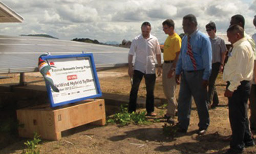 Rupununi renewable solar project commissioned